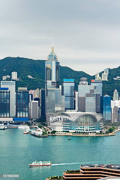 Victoria Harbor and city landscape during daytime