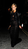 Victoria Hervey attends AnOther Magazine party at Lulu's Member's Club on September 16 2013 in London England