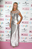 Victoria Hervey attends the Amy Winehouse Foundation ball at The Landmark Hotel on November 18 2014 in London England