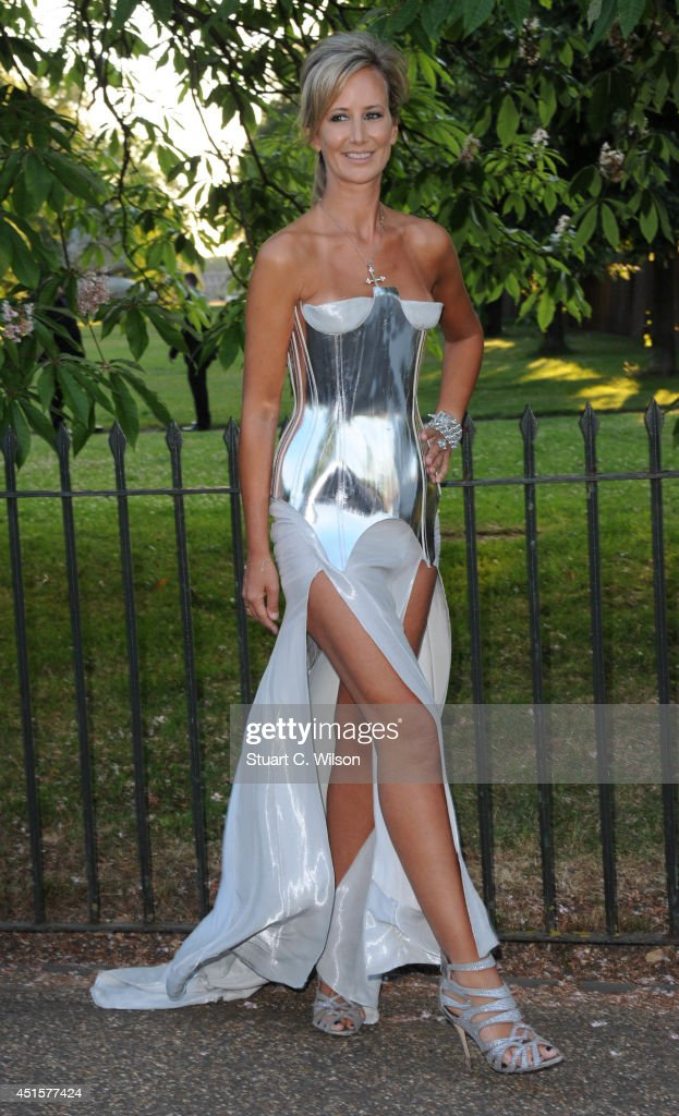 Victoria Hervey attends the annual Serpentine Galley Summer Party at The Serpentine Gallery on July 1, 2014 in London, England.