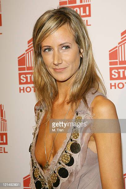 Victoria Hervey during Sons of Hollywood Host Party at the Stoli Hotel at Stoli Hotel in Hollywood California United States