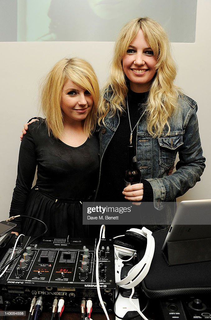 <a gi-track='captionPersonalityLinkClicked' href=/galleries/search?phrase=Victoria+Hesketh&family=editorial&specificpeople=5708148 ng-click='$event.stopPropagation()'>Victoria Hesketh</a> aka Little Boots (L) and Pip Brown of Ladyhawke attend the launch of Casio London's Global Concept Store in Covent Garden Piazza on April 18, 2012 in London, England.