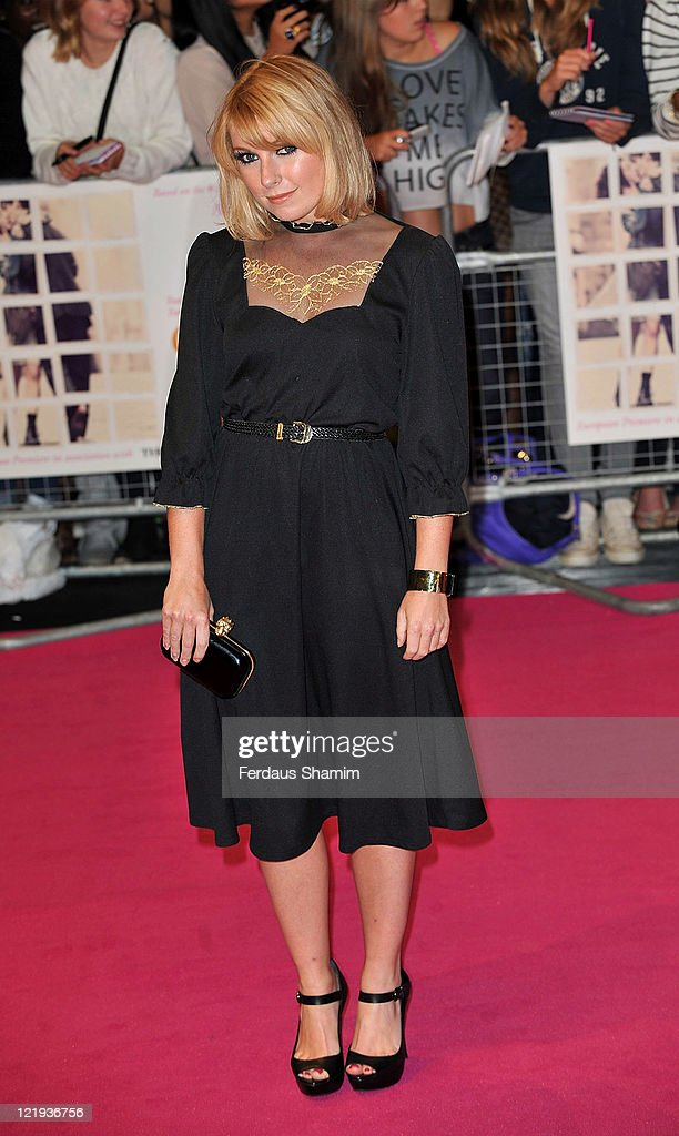 Victoria Hesketh attends the European premiere of 'One Day' at Vue Westfield on August 23, 2011 in London, England.