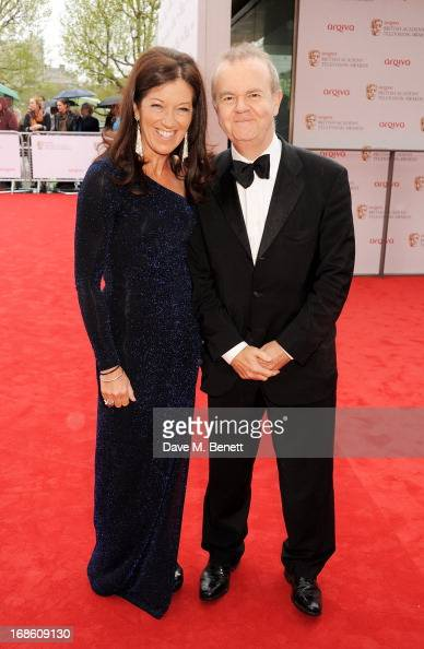 Victoria Hislop and Ian Hislop attend the Arqiva British Academy Television Awards 2013 at the Royal Festival Hall on May 12 2013 in London England