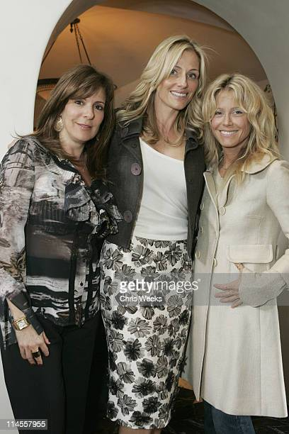 Victoria Jackson Jamie Tisch and Tracey Ross during Oliver Peoples Tracey Ross JovovichHawk and Richemont 2007 Oscar Luncheon at Private Residence in...