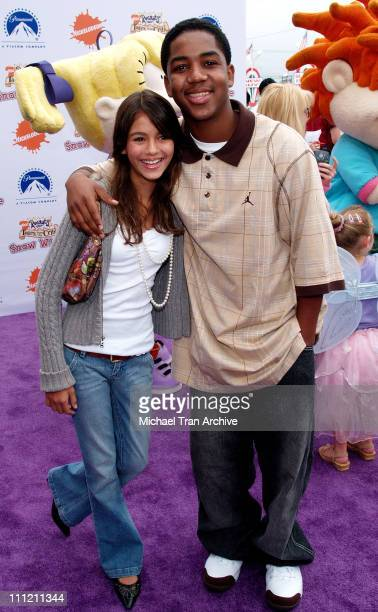 Victoria Justice and Chris Massey during Nickelodeon Presents Fairypalooza Premiere for 'Rugrats Tales From The Crib Snow White' Arrivals at...