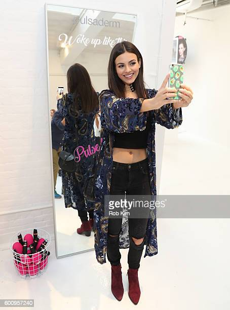 Victoria Justice attends day one of Beauty Bar Presented by Cottonelle on September 8 2016 in New York City
