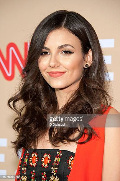Victoria Justice attends the 2015 CNN Heroes An AllStar Tribute at the American Museum of Natural History on November 17 2015 in New York City