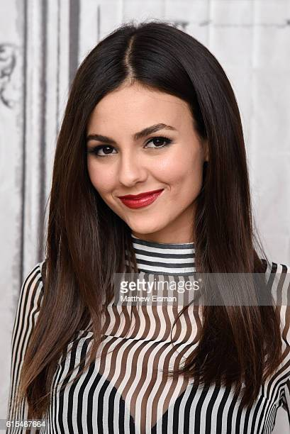 Victoria Justice attends The Build Series Presents Victoria Justice Christina Milian discussing 'The Rocky Horror Picture Show Let's Do the Time Warp...