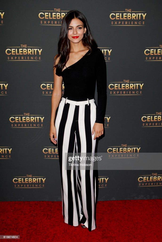 Victoria Justice attends The Celebrity Experience at Hilton Universal Hotel on July 16, 2017 in Los Angeles, California.