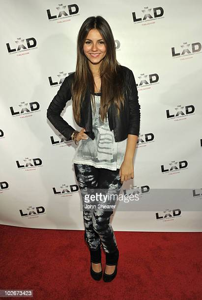 Victoria Justice attends the LXD after party at The Roosevelt Hotel on July 6 2010 in Hollywood California