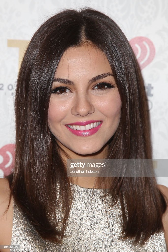 Victoria Justice attends the Target Presents The iHeartRadio '20/20' Album Release Party With Justin Timberlake at El Rey Theatre on March 18, 2013 in Los Angeles, California.