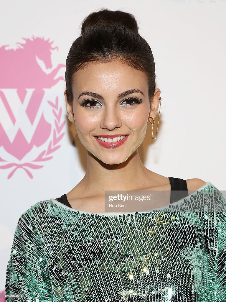 <a gi-track='captionPersonalityLinkClicked' href=/galleries/search?phrase=Victoria+Justice&family=editorial&specificpeople=569887 ng-click='$event.stopPropagation()'>Victoria Justice</a> attends the Wildfox presentation during Fall 2013 Mercedes-Benz Fashion Week at Capitale on February 6, 2013 in New York City.