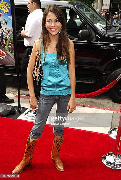 Victoria Justice during 'Barnyard' World Premiere Arrivals at Cinerama Dome in Hollywood California