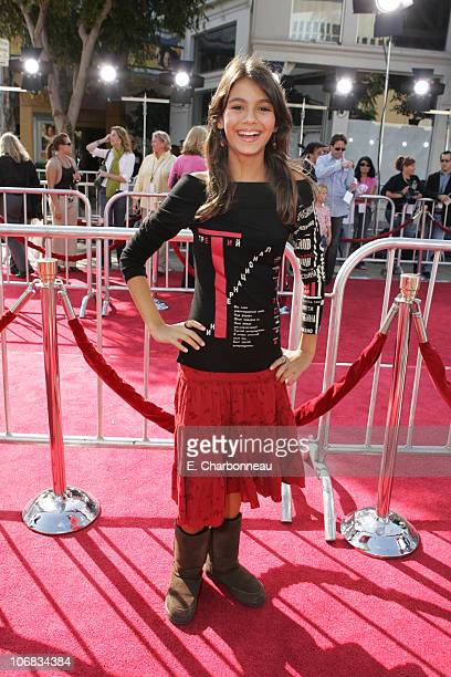 Victoria Justice during DreamWorks Pictures' 'Dreamer Inspired by a True Story' Los Angeles Premiere Red Carpet at Mann Village Theatre in Westwood...