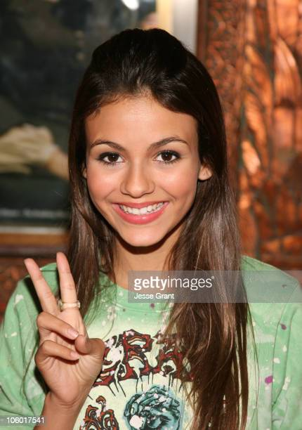 Victoria Justice during 'Little Women The Musical' Premiere Arrivals at The Pantages in Hollywood California United States