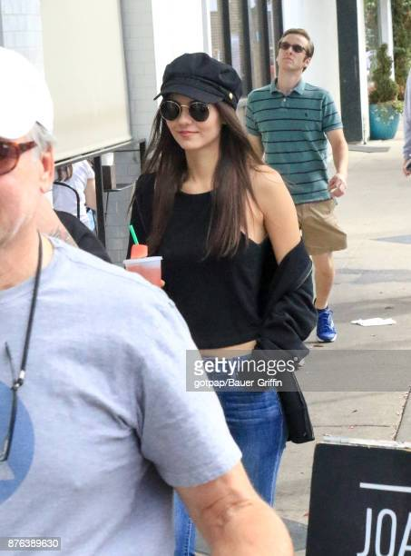 Victoria Justice is seen on November 19 2017 in Los Angeles California