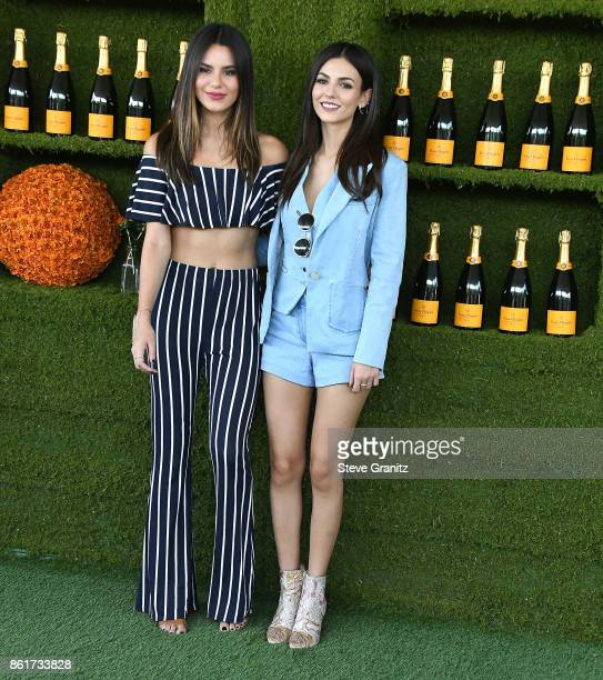 Victoria Justice Madison Reed arrives at the 8th Annual Veuve Clicquot Polo Classic at Will Rogers State Historic Park on October 14 2017 in Pacific...