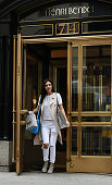 Victoria Justice shops at Henri Bendel on August 11 2015 in New York City
