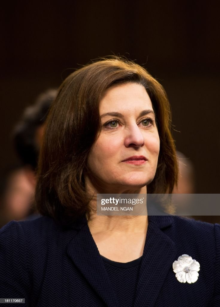 Victoria Kennedy, the wife of the late Edward 'Ted' Kennedy, attends the Senate Foreign Relations Committee nomination hearing for Caroline Kennedy to be ambassador to Japan in the Hart Senate Office Building on Capitol Hill in Washington, DC on September 19, 2013. AFP PHOTO/Mandel NGAN