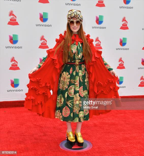 Victoria Kuhne attends the 18th Annual Latin Grammy Awards at MGM Grand Garden Arena on November 16 2017 in Las Vegas Nevada