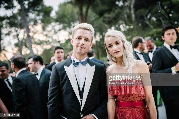 Victoria Magrath attends the amfAR Gala Cannes 2017 at Hotel du CapEdenRoc on May 25 2017 in Cap d'Antibes France