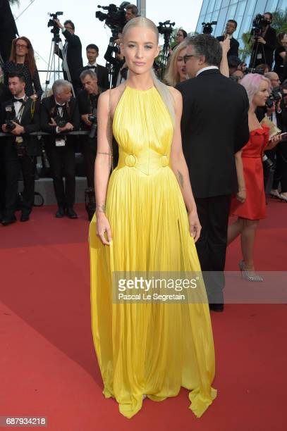 Victoria Magrath attends the 'The Beguiled' screening during the 70th annual Cannes Film Festival at Palais des Festivals on May 24 2017 in Cannes...