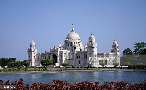 Victoria Memorial in Calcutta in India