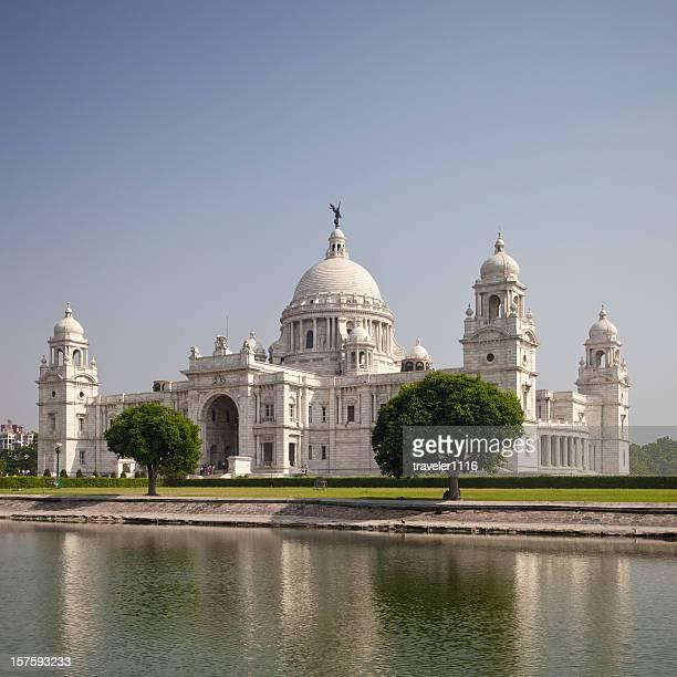 Victoria Memorial In Calcutta, India