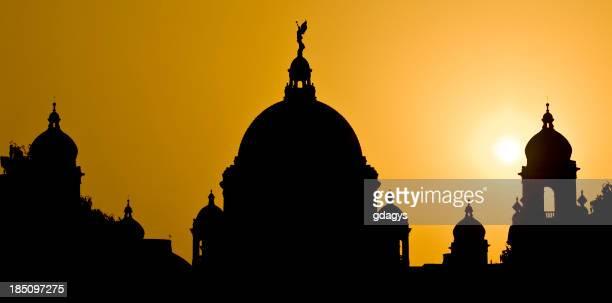 Victoria Memorial in Calcutta