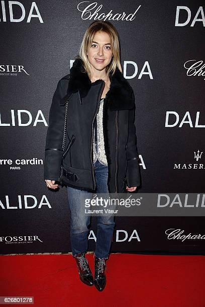 Victoria Monfort attends 'Dalida' Paris Premiere at L'Olympia on November 30 2016 in Paris France