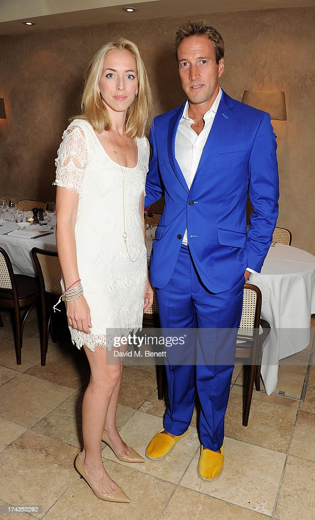 Victoria Pattinson (L) and <a gi-track='captionPersonalityLinkClicked' href=/galleries/search?phrase=Ben+Fogle&family=editorial&specificpeople=216039 ng-click='$event.stopPropagation()'>Ben Fogle</a> attends an evening of dinner and dancing at Daphne's on July 24, 2013 in London, England.