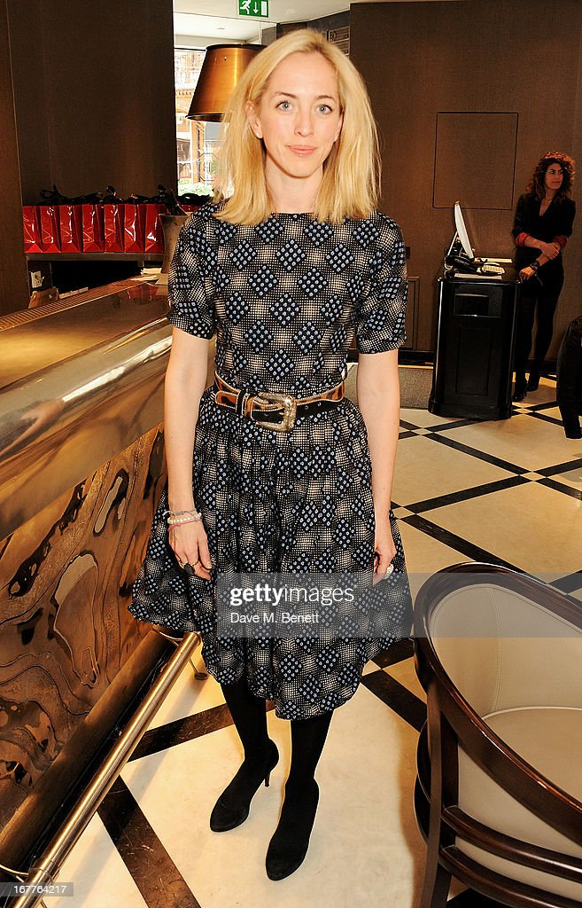 Victoria Pattinson attends the launch of Cash & Rocket, in aid of the (Red) Rush to Zero campaign, at Banca Restaurant on April 29, 2013 in London, England.