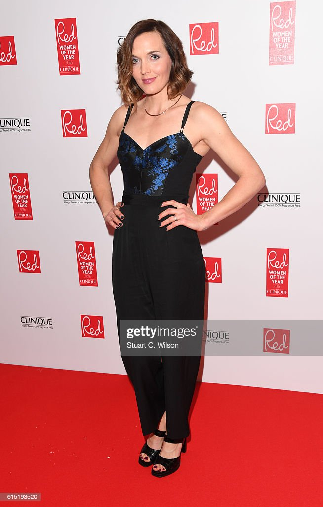 Victoria Pendelton attends the Red Women of the year awards at The Skylon on October 17, 2016 in London, England.