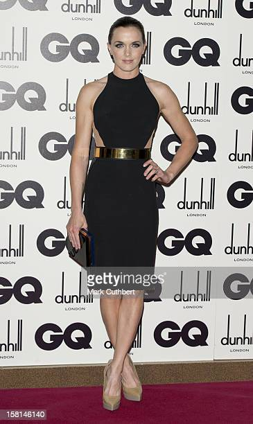 Victoria Pendleton At The 2012 Gq Men Of The Year Awards At The Royal Opera House Bow Street London