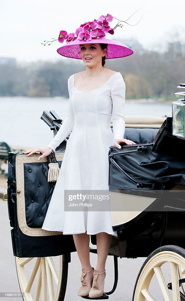 Victoria Pendleton attends a photocall to launch Royal Ascot 2013 at Hyde Park on January 24, 2013 in London, England.