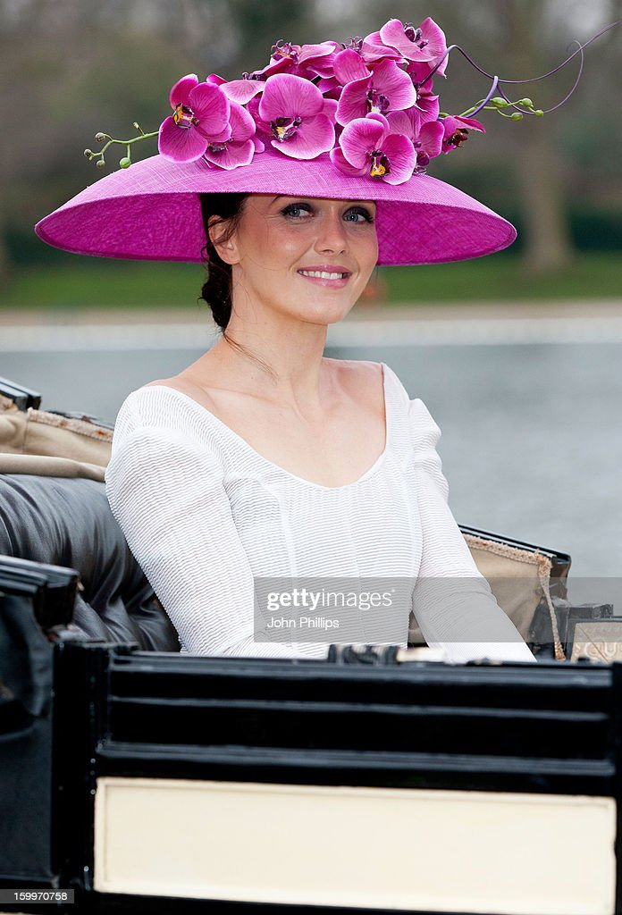 <a gi-track='captionPersonalityLinkClicked' href=/galleries/search?phrase=Victoria+Pendleton&family=editorial&specificpeople=228525 ng-click='$event.stopPropagation()'>Victoria Pendleton</a> attends a photocall to launch Royal Ascot 2013 at Hyde Park on January 24, 2013 in London, England.