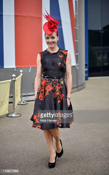Victoria Pendleton attends Ladies day on Day 3 of Royal Ascot at Ascot Racecourse on June 20 2013 in Ascot England