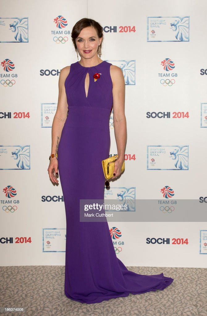 <a gi-track='captionPersonalityLinkClicked' href=/galleries/search?phrase=Victoria+Pendleton&family=editorial&specificpeople=228525 ng-click='$event.stopPropagation()'>Victoria Pendleton</a> attends the British Olympic Ball at The Dorchester on October 30, 2013 in London, England.