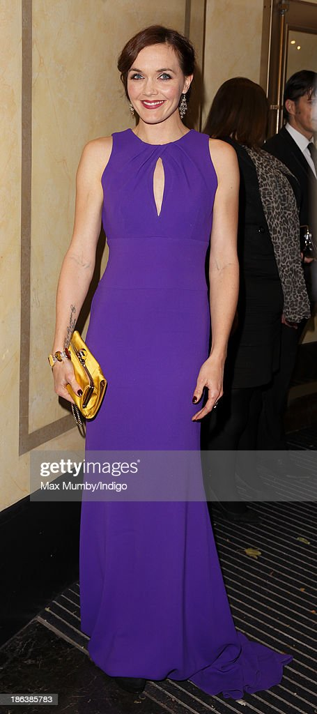 Victoria Pendleton attends the British Olympic Ball at The Dorchester on October 30, 2013 in London, England.