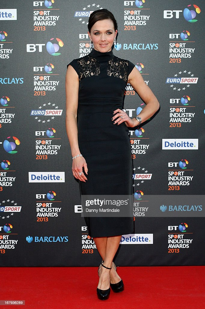 Victoria Pendleton attends the BT Sports Industry awards at Battersea Evolution on May 2, 2013 in London, England.