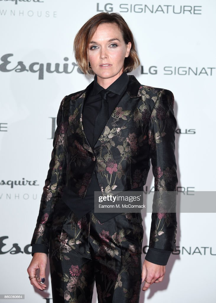 Victoria Pendleton attends the Esquire Townhouse with Dior party at No 11 Carlton House Terrace on October 11, 2017 in London, England.