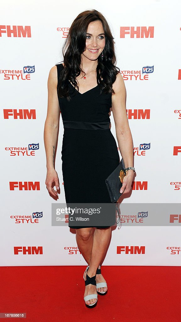 <a gi-track='captionPersonalityLinkClicked' href=/galleries/search?phrase=Victoria+Pendleton&family=editorial&specificpeople=228525 ng-click='$event.stopPropagation()'>Victoria Pendleton</a> attends the FHM 100 Sexiest Women In The World 2013 Launch Party at Sanderson Hotel on May 1, 2013 in London, England.