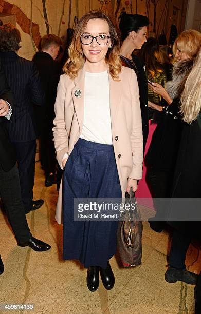 Victoria Pendleton attends the Stella McCartney Christmas Lights Switch On at the Stella McCartney Bruton Street Store on November 26 2014 in London...