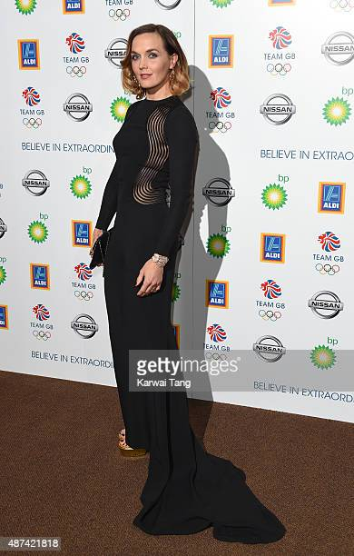 Victoria Pendleton attends the Team GB Olympic Ball at The Royal Opera House on September 9 2015 in London England