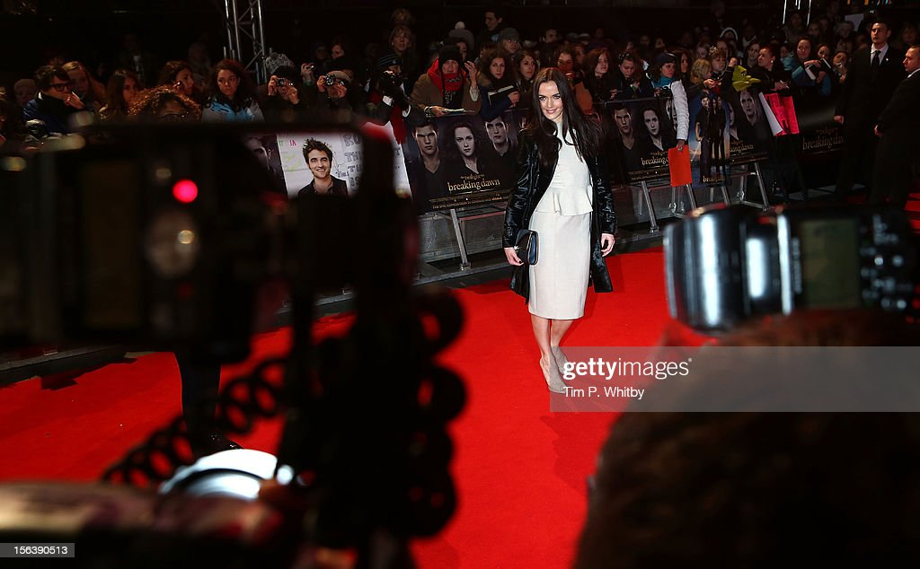 <a gi-track='captionPersonalityLinkClicked' href=/galleries/search?phrase=Victoria+Pendleton&family=editorial&specificpeople=228525 ng-click='$event.stopPropagation()'>Victoria Pendleton</a> attends the UK Premiere of 'The Twilight Saga: Breaking Dawn - Part 2' at Odeon Leicester Square on November 14, 2012 in London, England.