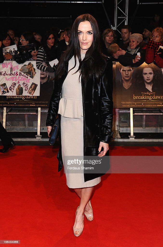 Victoria Pendleton attends the UK Premiere of 'The Twilight Saga: Breaking Dawn - Part 2' at Odeon Leicester Square on November 14, 2012 in London, England.