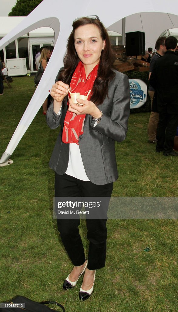 Victoria Pendleton attends the VIP Preview for 'Taste of London' at Regent's Park on June 19, 2013 in London, England.
