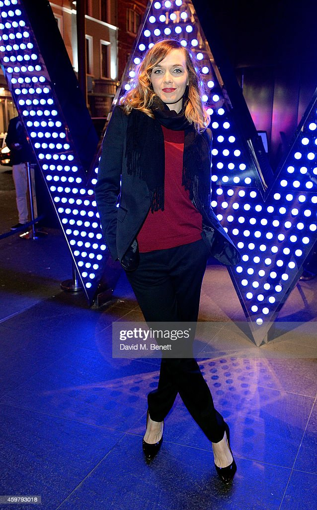 Victoria Pendleton attends the W London - Leicester Square & (RED) World AIDS Day Fundraising Party at Wyld on December 1, 2014 in London, England.