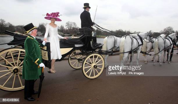 Victoria Pendleton launches the Royal Ascot The Colour and the Glory campaign in Hyde Park London PRESS ASSOCIATION Photo Picture date Thursday...